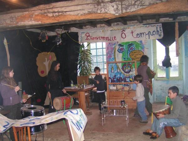 L'atelier rythme