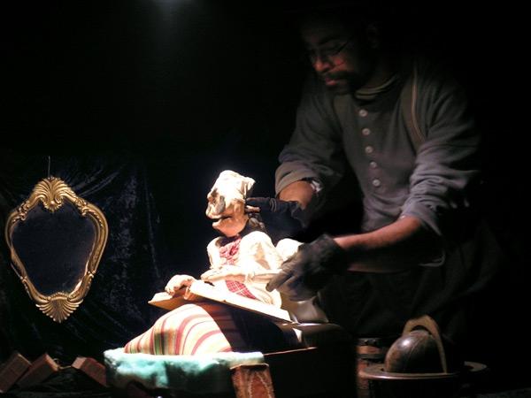 La quête de Messire Pantone, par la Compagnie Pilepoil (Patrice Stoupan) le 11/03/06